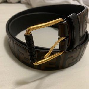Fendi Accessories - Authentic Fendi Men's Belt
